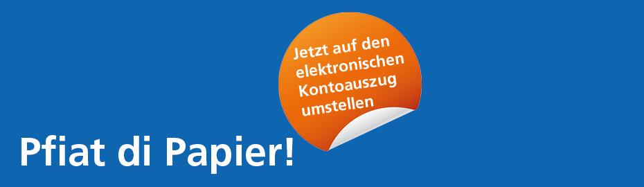 Elektronischer Kontoauszug Firmenkunden